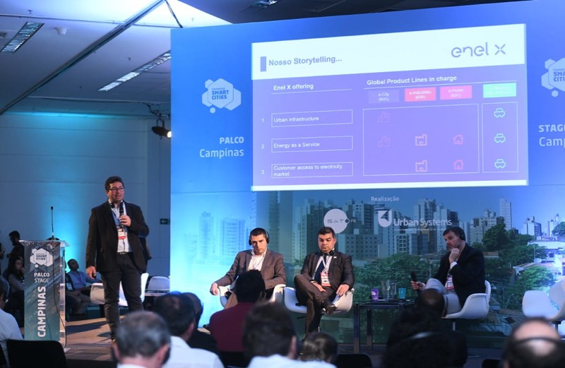 (Português) Enel X participa do Connected Smart Cities e Mobility 2019