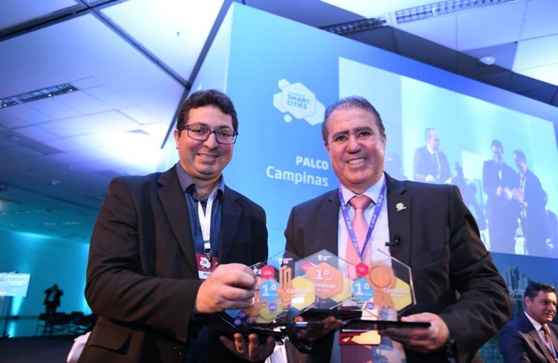 (Português) Prefeito de Campinas destaca as ações do Connected Smart Cities no desenvolvimento da cidade
